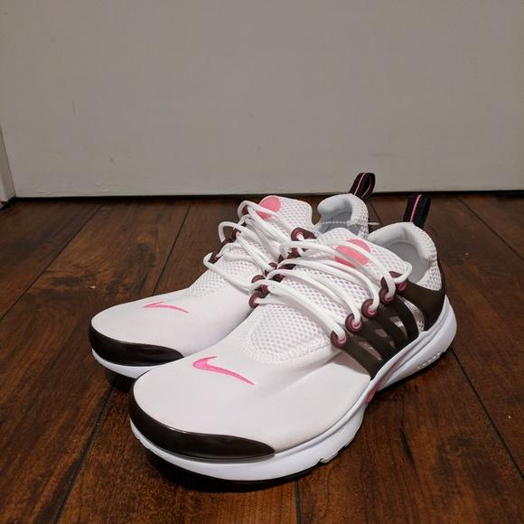 online retailer bcf38 c3794 Nike Air Presto White Pink Black